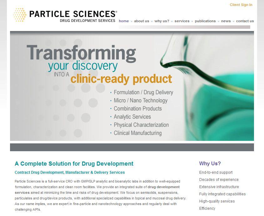Particle Sciences