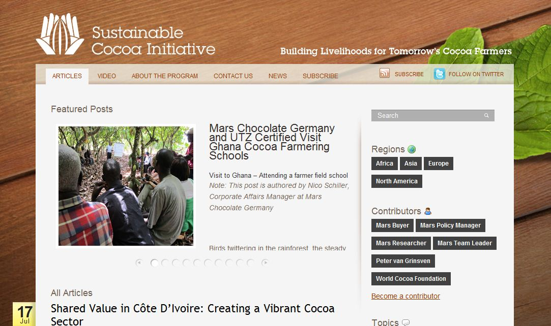 Cocoa Sustainability