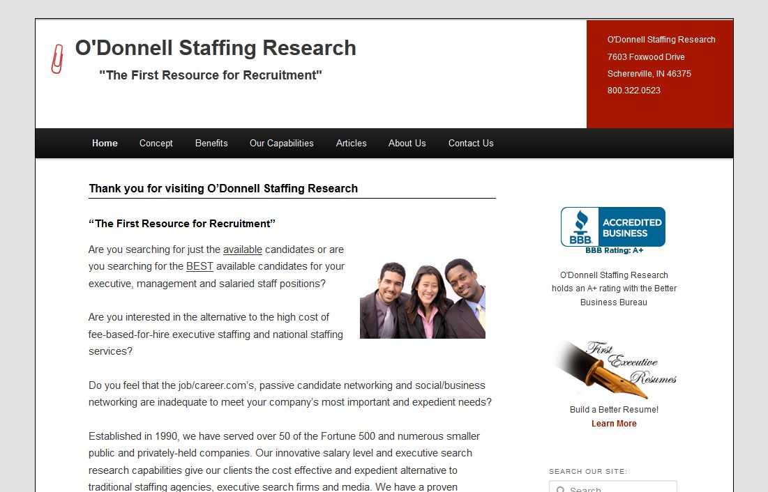 O'Donnell Staffing Research